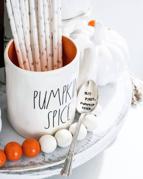 But first, pumpkin spice stamped spoon