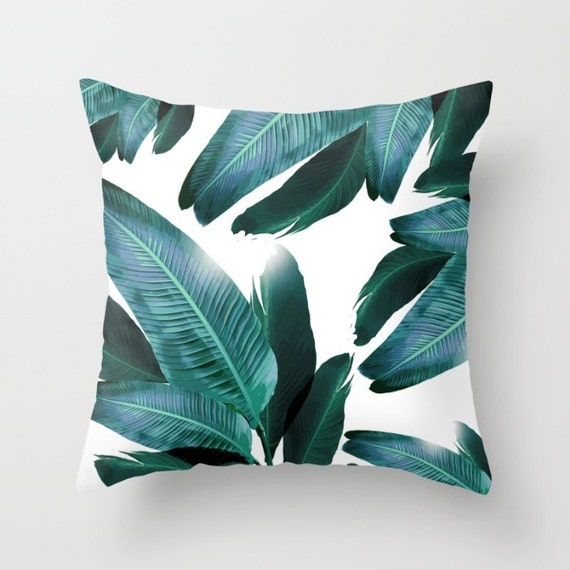 Banana leaf pillow cushion durable