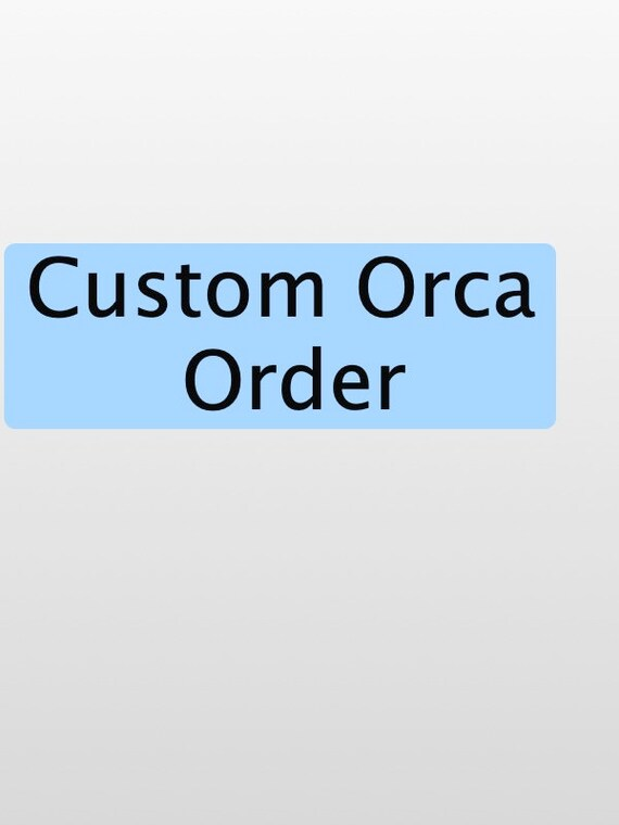 Orca Teacher curtain (custom)