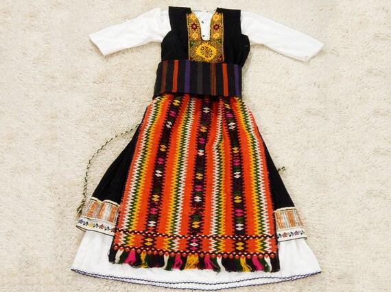 Antique Handmade Traditional Female Costume, Antiq