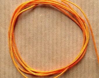 Wire 0.8 x 1.50 mm diameter orange soft nylon m or more
