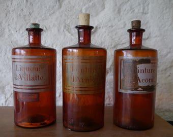 Great old bottles of pharmacist