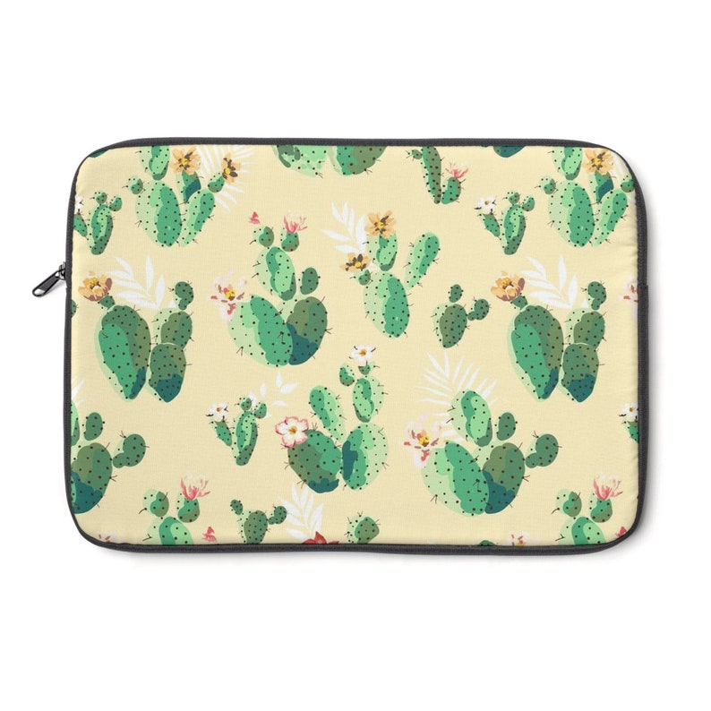 840a57aa2c12 Cactus Laptop Sleeve   Device Cases   Laptop Accessories   Personalized  Laptop Sleeve 15 inch   Yellow Macbook Sleeve   Cactus Laptop Case