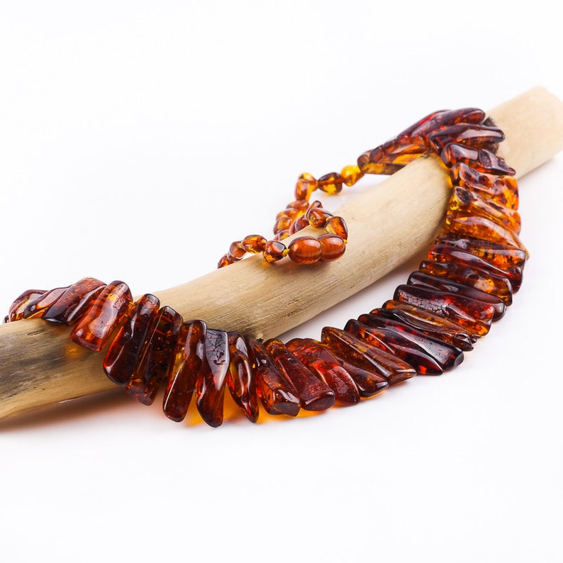 NATURAL BALTIC AMBER collier.