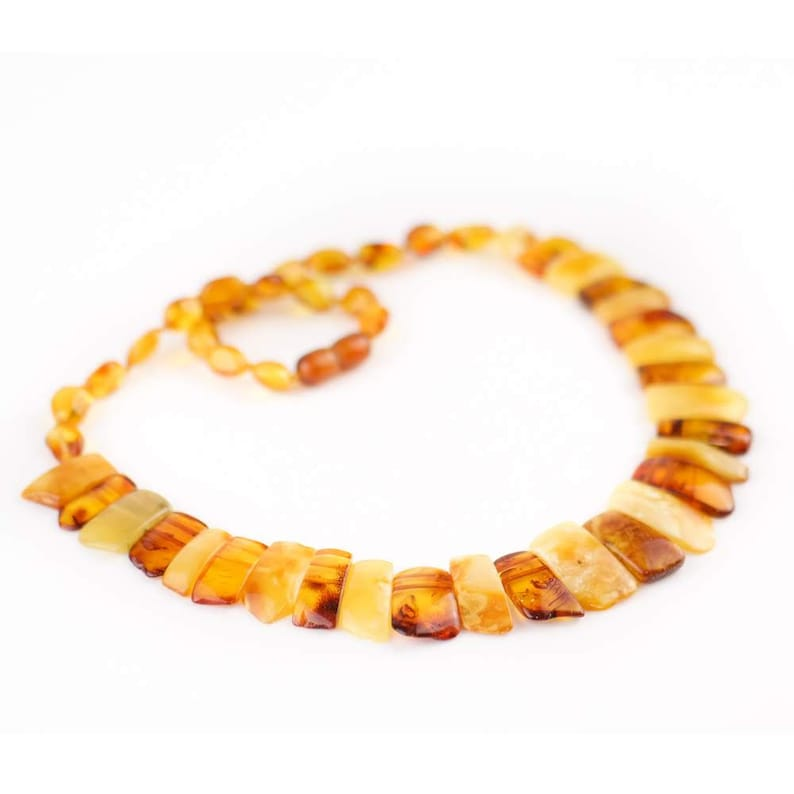 Warm Orange O-ring Choker Necklace more colors available