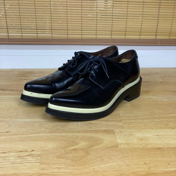 Acne Studios Women's Oxford Creeper Platform Shoe