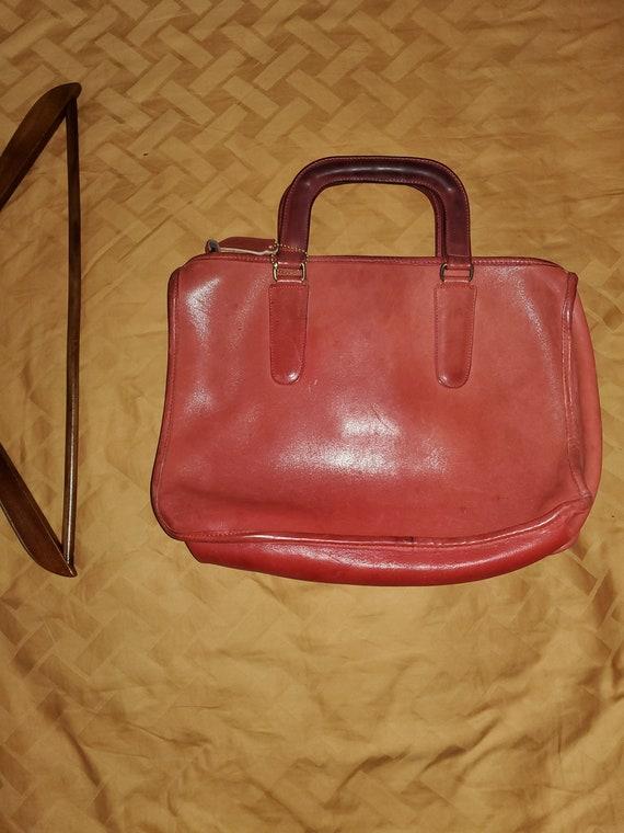 Coach Vintage Cashin Speedy Brief Bag - Lipstick R