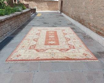 """10'2"""" x 14' ft Large Size Handmade Turkish Carpet Rug, Oversize Hand Knotted Soft Pile Wool Oushak Rug, Vintage Oversized Bohemian Rug !"""