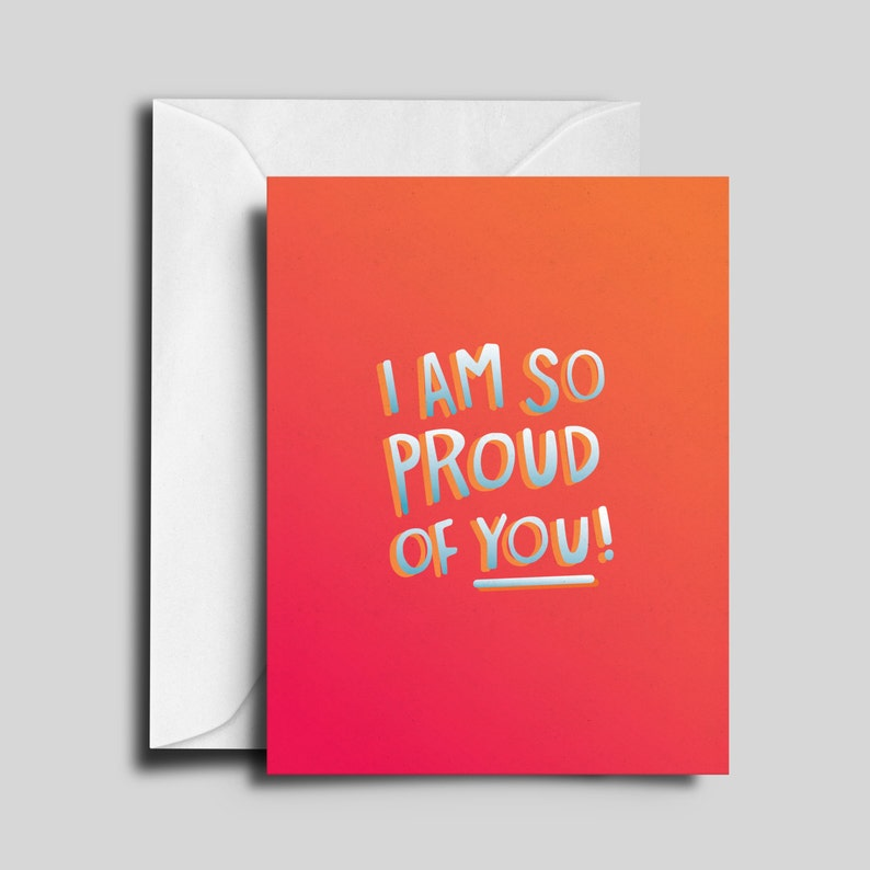 So Proud of You Greeting Card image 0