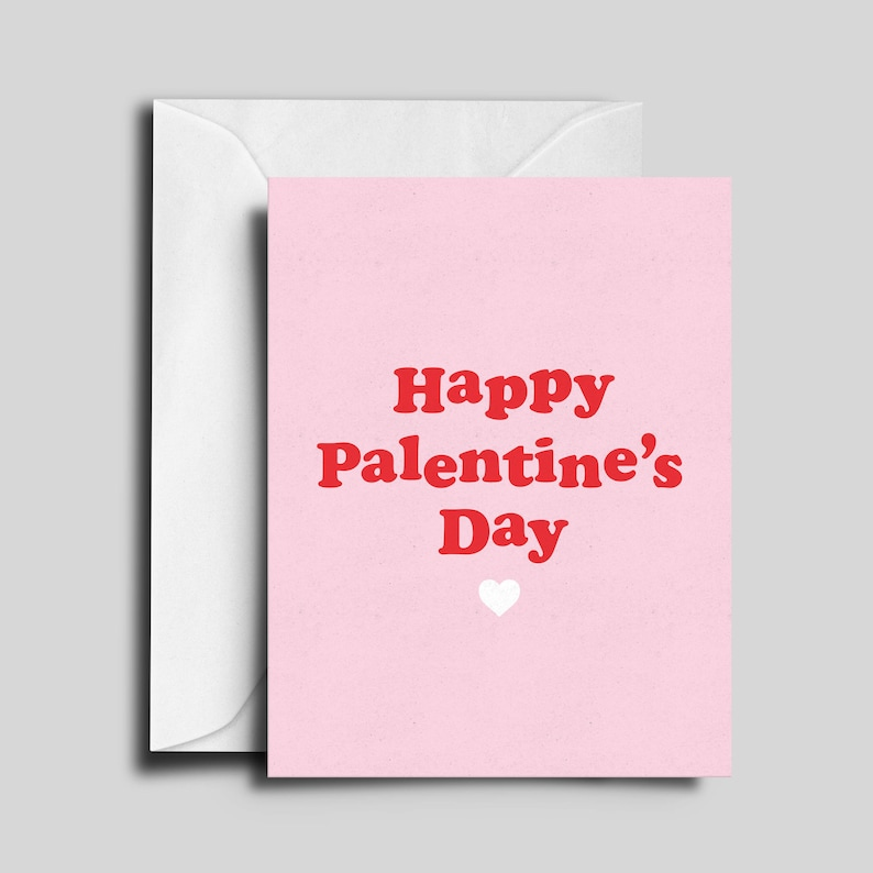 Palentine's Day / Anti Valentine's Day / Friend Card image 0