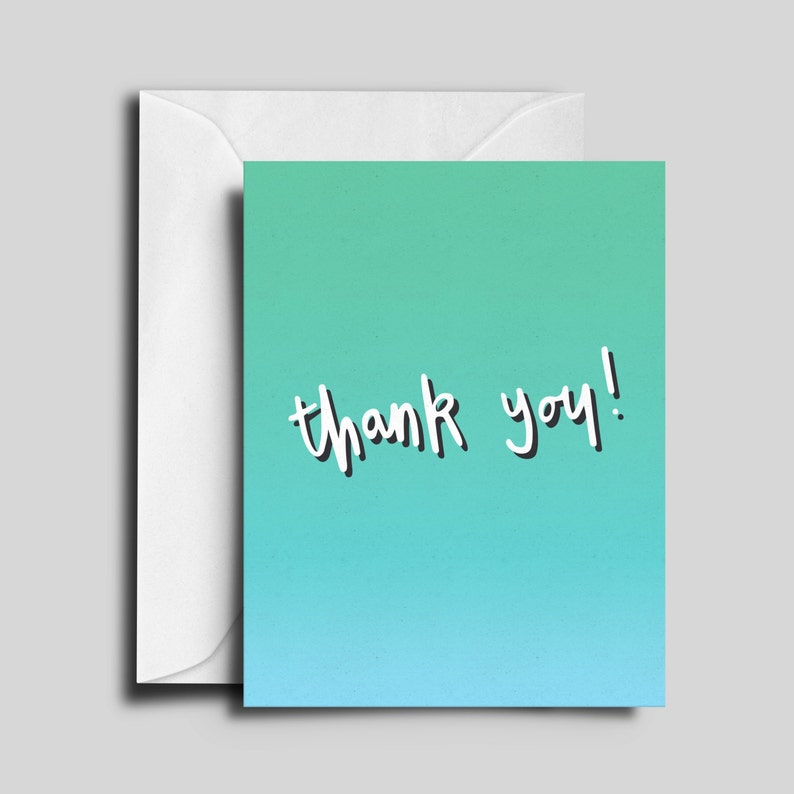 Thank You Greeting Card image 0