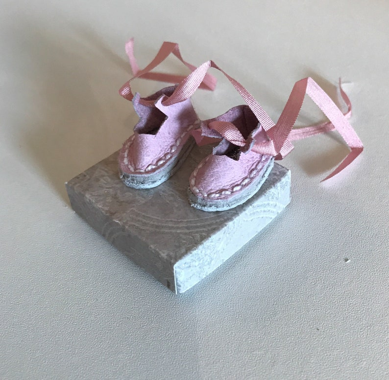 Blythe Doll shoes handmade real leather