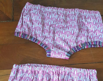 Kids pants cache bloomer pink 2-3 years
