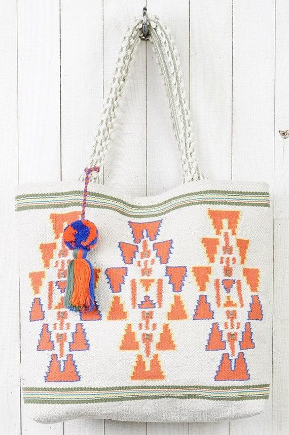 Boho Chic Vintage Fabric Tote Bag - Very Free Peop