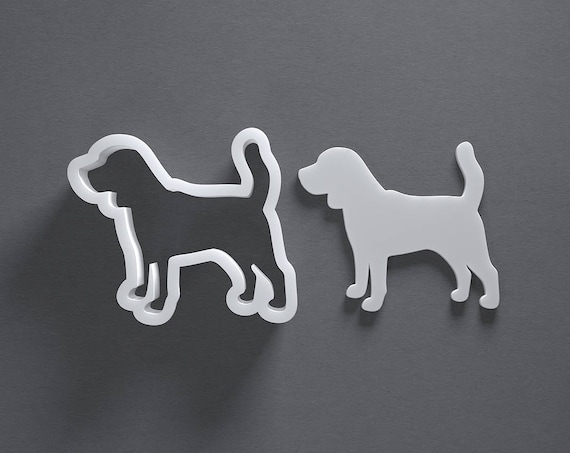 Stl file dog boxer cookie cutter