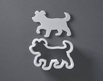 Puppy Cookie Cutter - From Mini To Large - Dog Polymer Clay Jewelry And Earring Cutter Tool - Free Shipping Eligible