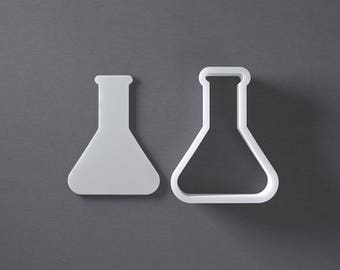 Beaker cookie cutter for all you mad scientists and nerds. It's science time!