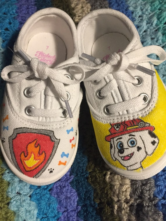 Paw Patrol Inspired Shoes featuring