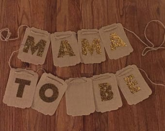 Mama To Be Baby Shower Sign
