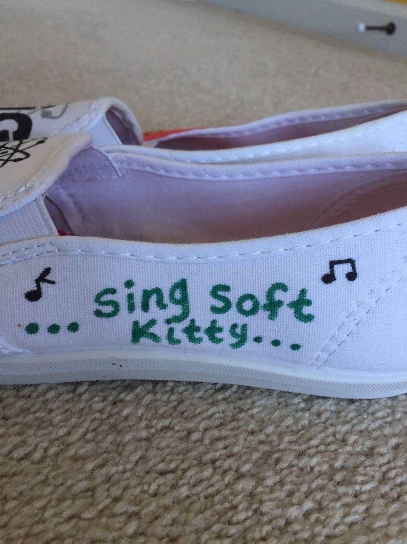 PRICE DROP ** The Big Bang Theory Handmade Shoes