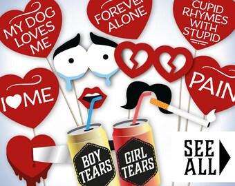 Anti Valentine Etsy