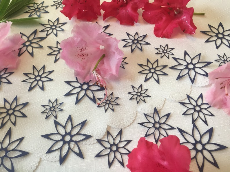 Wedding Party Table Decorations 42 Flower Table Confetti
