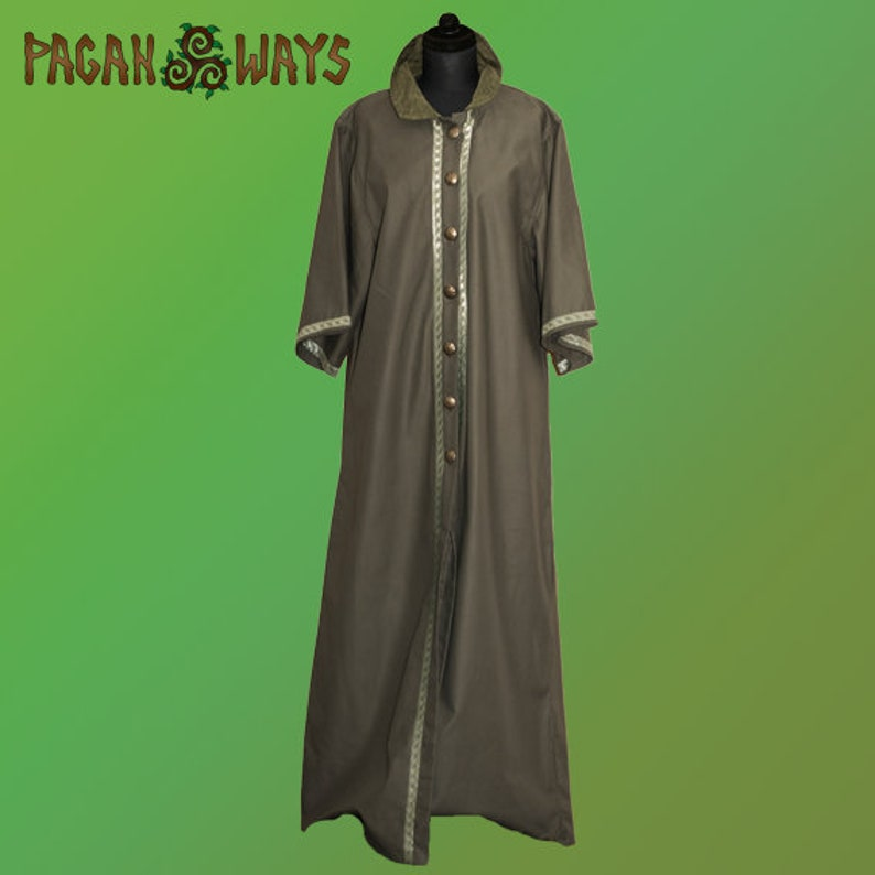 Elf king coat jacket  fantasy clothing lord of the rings game image 0