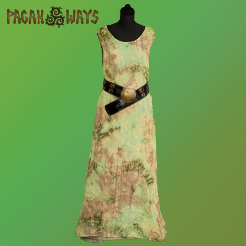 Sleeveless fantasy dress  pagan fantasy dress alternative image 0