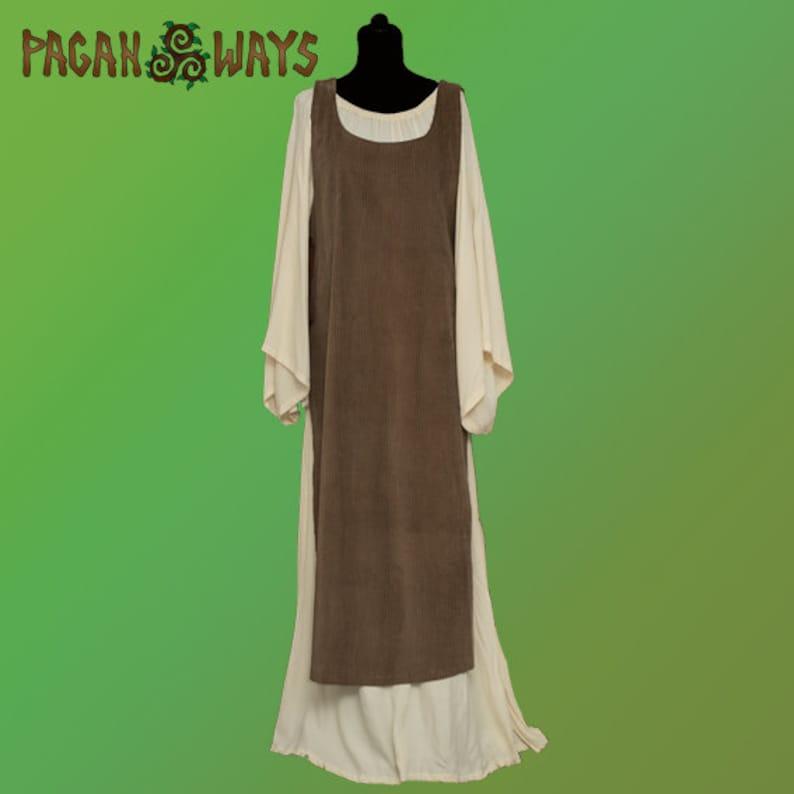 Medieval dress  Celtic dress slavic pagan dress fantasy image 0