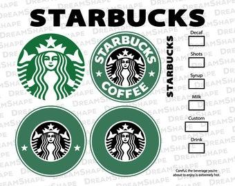 photograph about Starbucks Logo Printable identify Starbucks svg Etsy