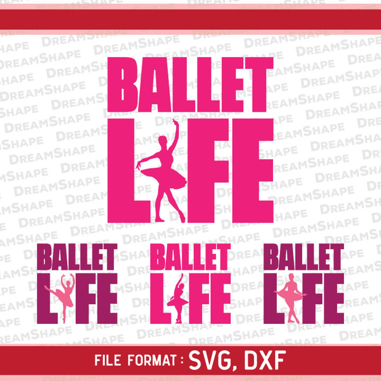 ballet life svg files, ballet life dxf cutting files, ballerina svg file, ballet life svg dxf file, ballet life svg cutting inst