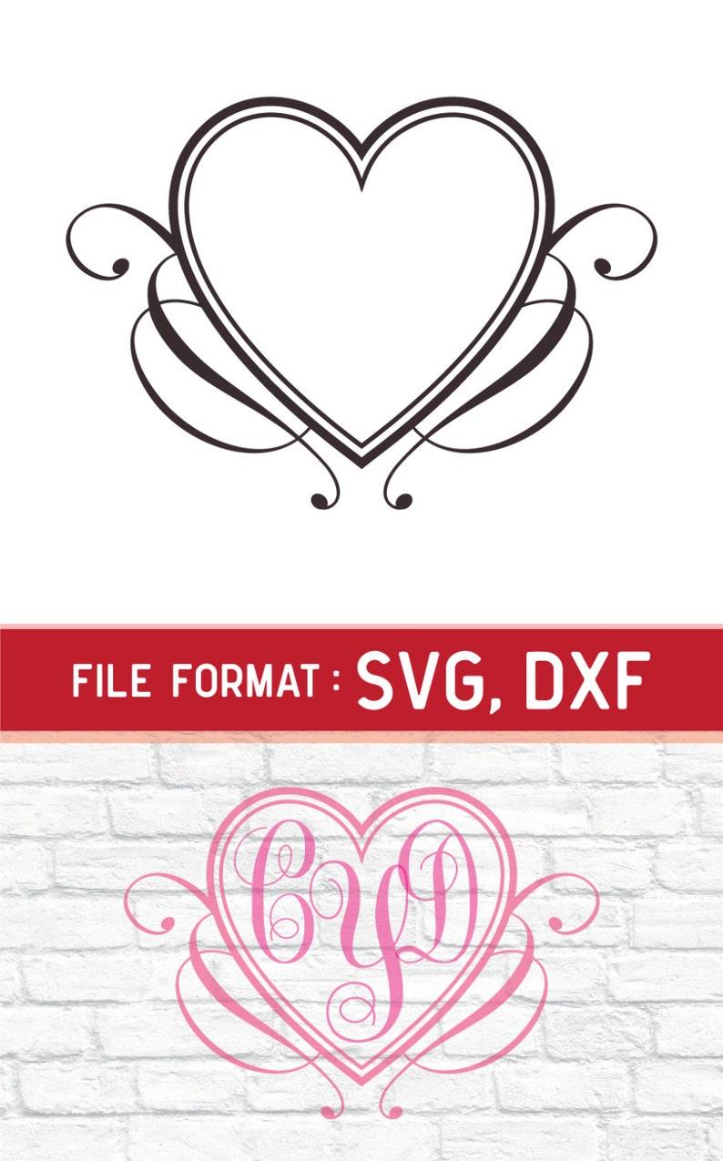 Download SVG Love Monogram Cricut Files Vinyl Cutters Couples SVG ...