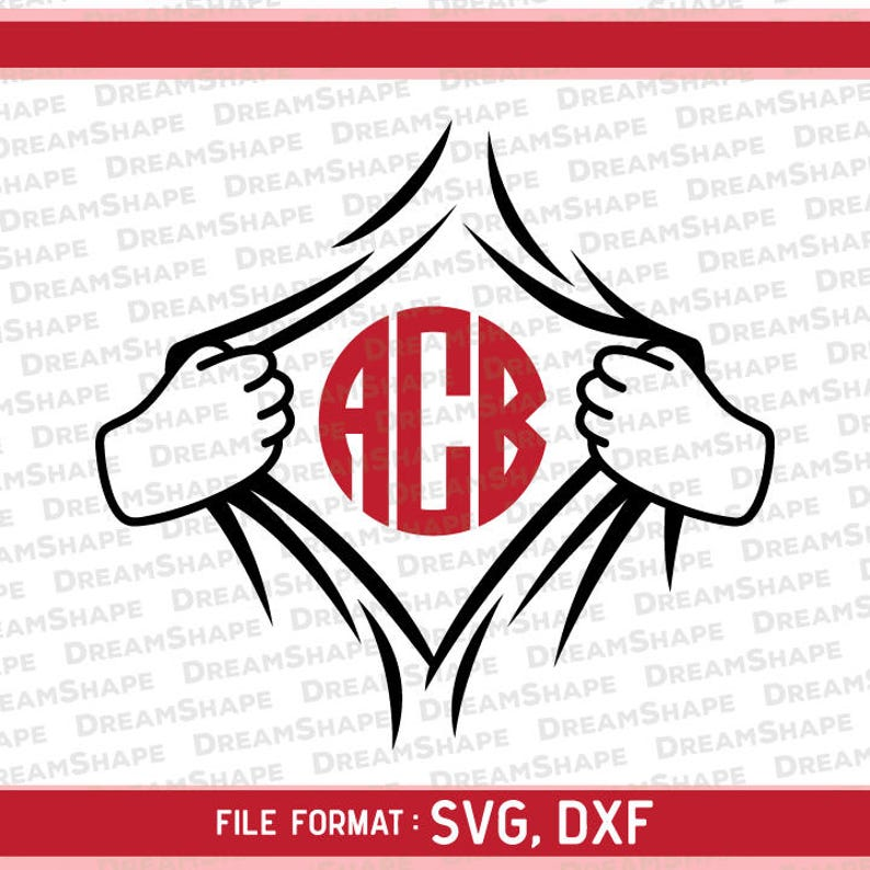 Superhero Open Shirt Transform SVG Files, Super Hero Changing Costume DXF  Cut Files, Superheroes Open Shirts SVG Dxf Files, Instant Download