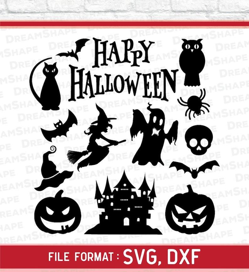 Halloween Svg Files Happy Halloween Svg Cut Files Halloween Etsy