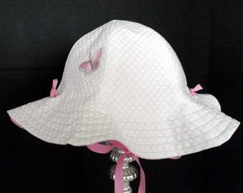 53d8264f836 Sun Hat  Reversible Sun Hat  Girls hats Toddler Sun Hat Girls Clothing   Handmade