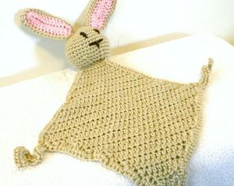 Bunny Rabbit Security Blanket
