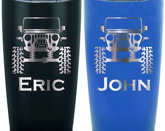 8d039ae84dc Personalized Jeep Tumbler