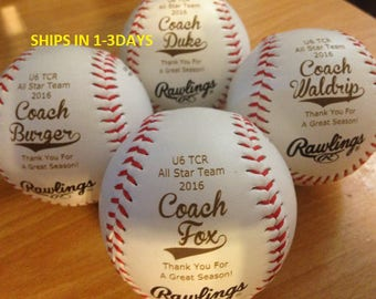 Personalized Baseballs, T-Ball, Tee Ball, Little league, Personalized, Team Balls, League Balls