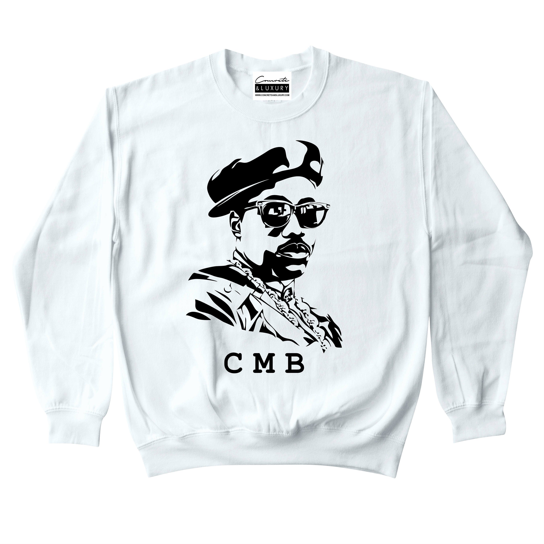 a252ed8bf05 CMB Nino Brown White Crewneck Sweatshirt To Match Retro Air | Etsy