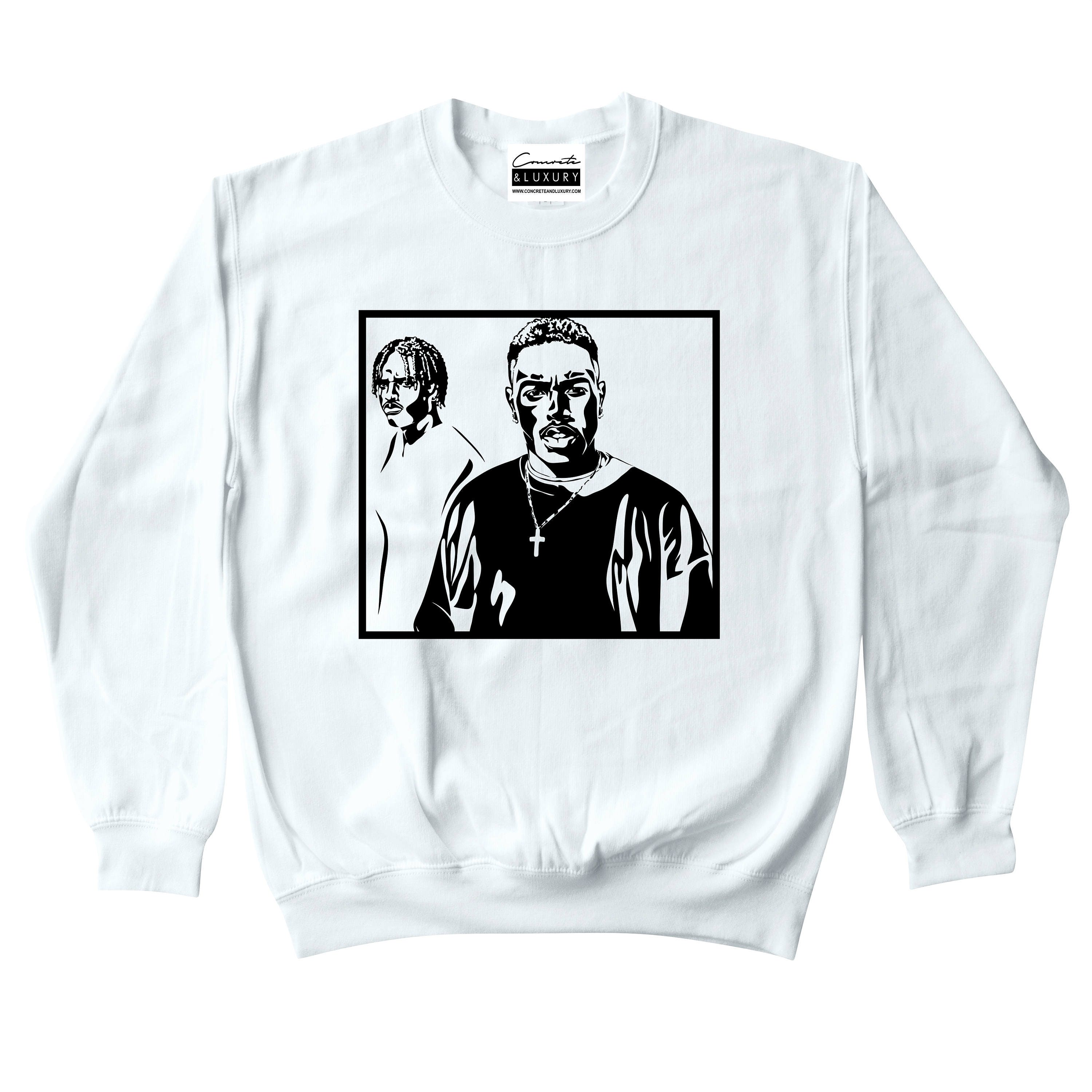 192a7c0012cc Menace II Society White Crewneck Sweatshirt To Match Retro