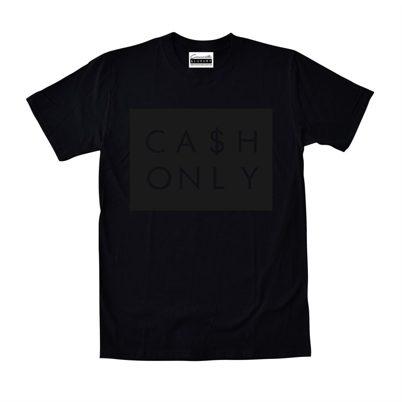 c8183aeaa20 Cash Only Black T-shirt To Match Retro Air Jordan 11 Prom | Etsy