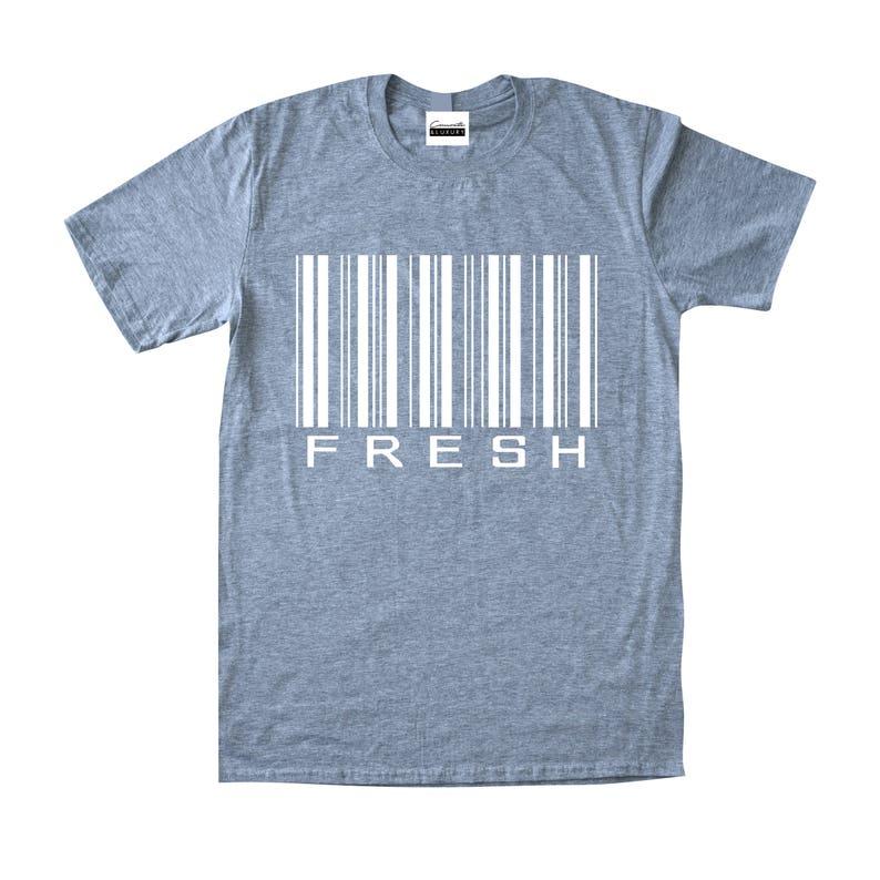 a5b054fcd9cace Concrete   Luxury Men s Fresh Barcode Heather Grey