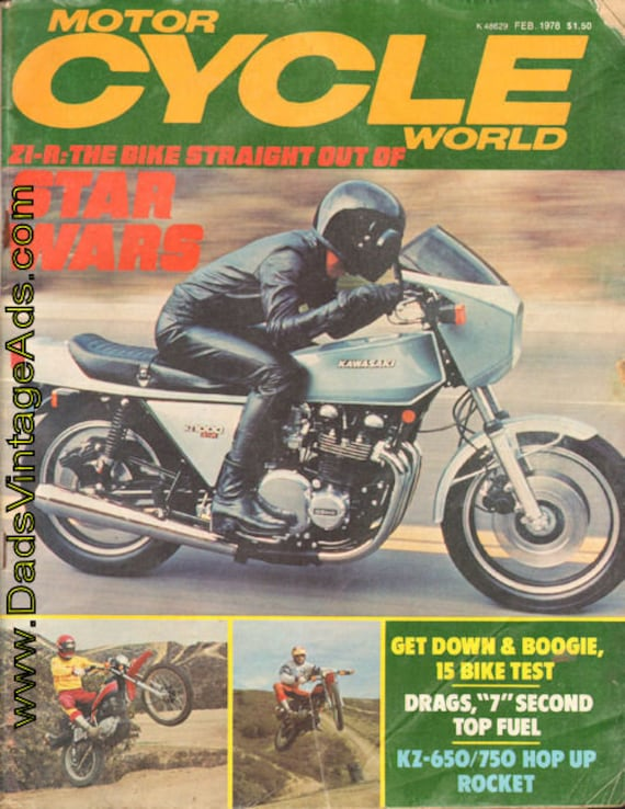 1978 February Motor Cycle World Motorcycle Magazine Back-Issue #7802mcw