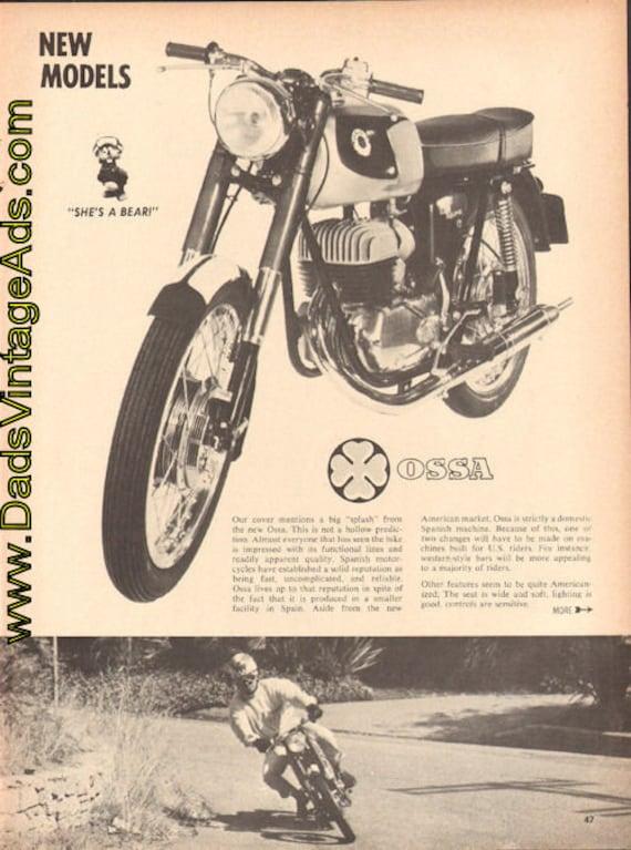 1965 Ossa 175-SE 2-Page Article #e65la08