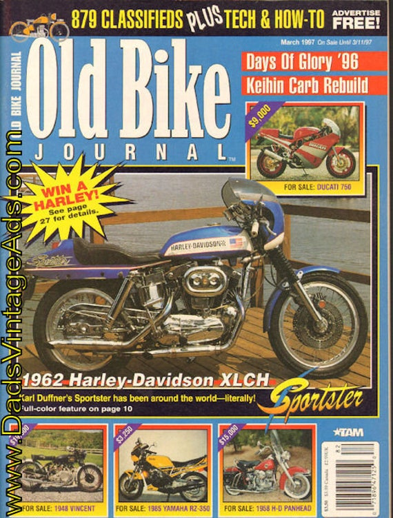 1997 March Old Bike Journal #82 Motorcycle Magazine Back-Issue #9703obj
