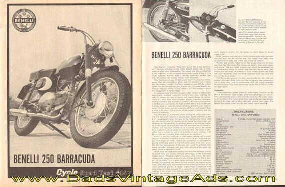 1966 Benelli 250 Barracuda Road Test 3-Page Article #e66ba18
