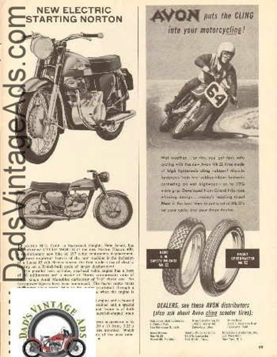 1963 Norton Electra 400 Electronic Starting Small Article #d63da09