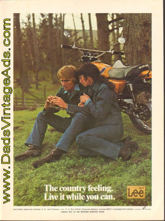 1973 Lee Rider Jeans and Jackets Ad #e73ea12