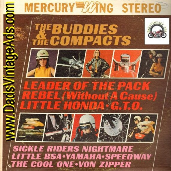 1965 The Buddies and the Compacts -Motorcycle Rock & Roll #rec149