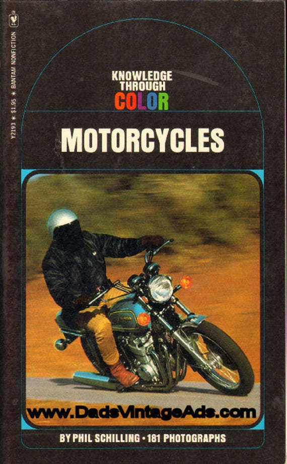 1975 Motorcycles - Knowledge Through Color - Book #mb562
